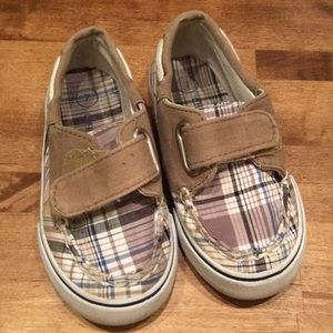 Other - Boys Shoes Plaid Size 7